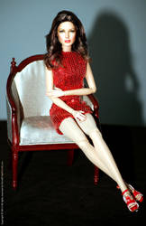 Jaclyn Smith by Noel Cruz for Regent Miniatures by regentminiatures