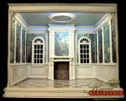 Hand Crafted 1:6 Scale Room Box for Barbie by regentminiatures