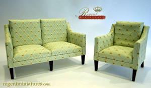 1:6 scale Classic Sofa by regentminiatures