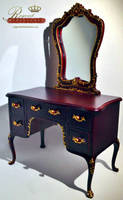 1:6 scale Mirrored Vanity by regentminiatures
