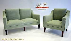 1:6 scale Classic Sofa by Regent Miniatures by regentminiatures