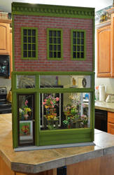 City Flowers 1:6 Scale Flower Shop by RM by regentminiatures