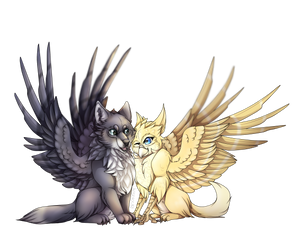 Griff Twins (Comm) by Alissa1010
