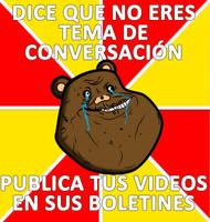 forever alone kuma meme by Fallito93