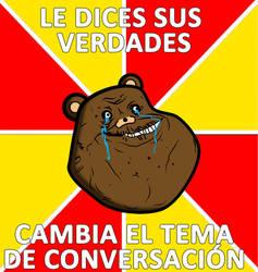 meme oso forevera alone by Fallito93