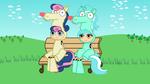 Lyra And Bonbon by Fallito93