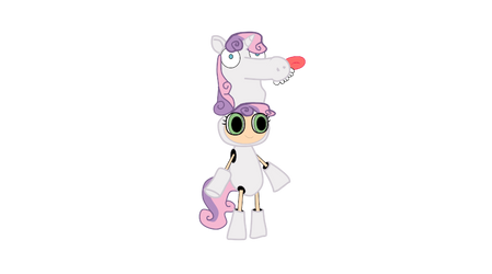 sweetie belle by Fallito93