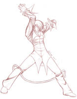 Iori sketch by Setsuna-Yagami