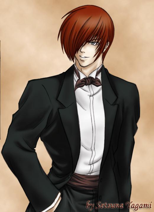 Iori in suit by Setsuna-Yagami