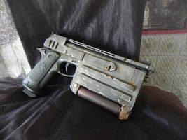 Fallout 3 N99 10mm pistol by Clayman8