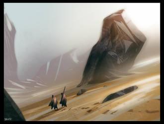 Desert_walk_01 by David-Holland