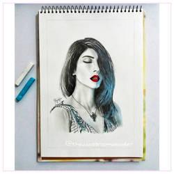 Meesha Shafi by Mustbshira