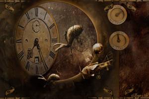 steampunk universe by magicsart