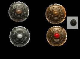 Celtic Goth Shield by magicsart