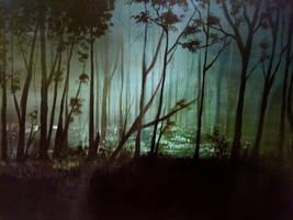 Acrylic Forest by Kuvari