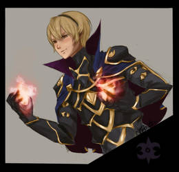Fire Emblem: Fates/If - Prince Leo by Kuvari