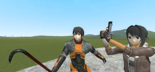 GMOD: Yandere Simulator Meets Half Life 2 by elsaprime