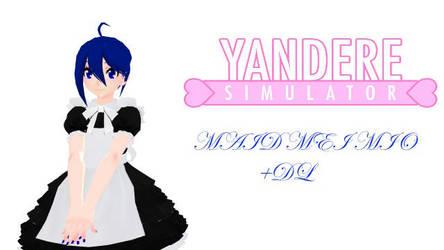 MMD: YAN SIM Mei Mio Maid Uniform +DL in desc by elsaprime