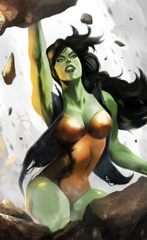 She-Hulk Rising by ellinsworth