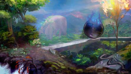 Planar Voyage by DavidBrowne