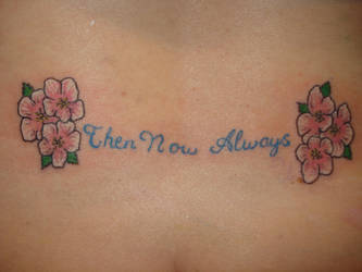 Flowers with a Quote by TattMan757