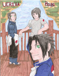 Uchiha Boys by Silverwing100
