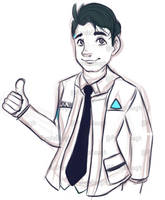 Connor for Cinnamon by pandadough