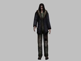 Dahlia Gillespie Silent Hill Origins Model by julio14403