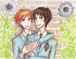 Twins by commoner-pocky