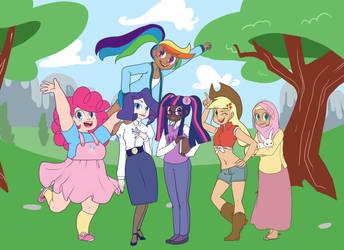 My Little Pony: Friendship is the Best by JUN-K-TASTIC