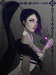 Sorceress~ by lluminescent