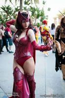 Scarlet Witch Cosplay by Vert-Vixen