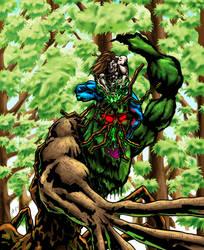 Greytok defeats a bayouan by EJT-Studios