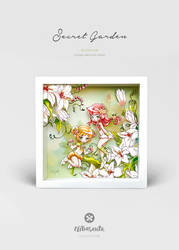 Secret Garden Diorama for Sale by lely