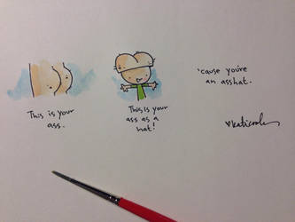the comments section by katiecandraw