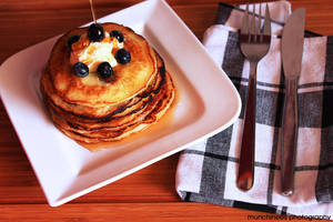 Blueberry Pancakes 1 by munchinees