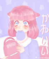 [ OC ] Fluffy thing by miminaa-chan