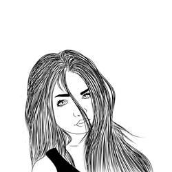girl by Pegabella