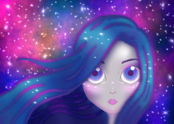 Galaxy Girl by NikiKratz