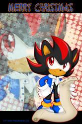 Chibi Shadow:Merry Christmas by Extra-Fenix