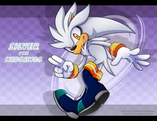 Collab:Silver the hedgehog by Extra-Fenix