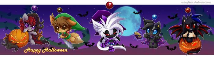 Halloween chao by Extra-Fenix
