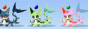 4 Design Adopts chao dragon Sharkoon CLOSED by Extra-Fenix
