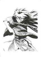 Scarred samurai by sniper5707