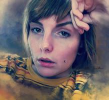 self portrait feb2012 by imorawetz
