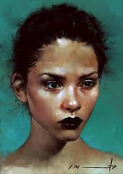2 hour portrait by imorawetz