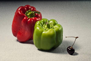 cherry peppers by tea