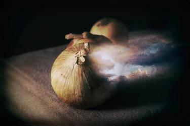 onionPealing by tea