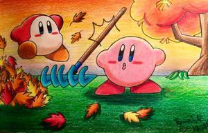 Kirbys Autum Pt. 2 by GhostFullmetal