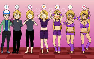Just Dance 2 Bully To Harem Girl TF TG MC Sequence by Nitro-The-Flygon